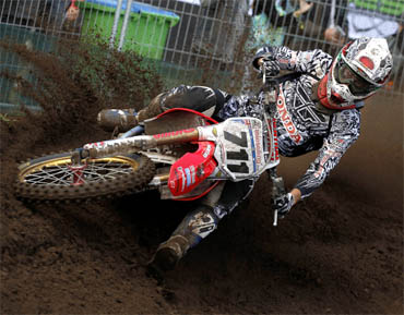 Honda Pro Racing Race Report   MX1 World Championship, Round 14 Lierop, Netherlands   Guest Australian rider Dean Ferris - Honda CRF450R   Photo by Ray Archer   Photo courtesy Honda Pro Racing